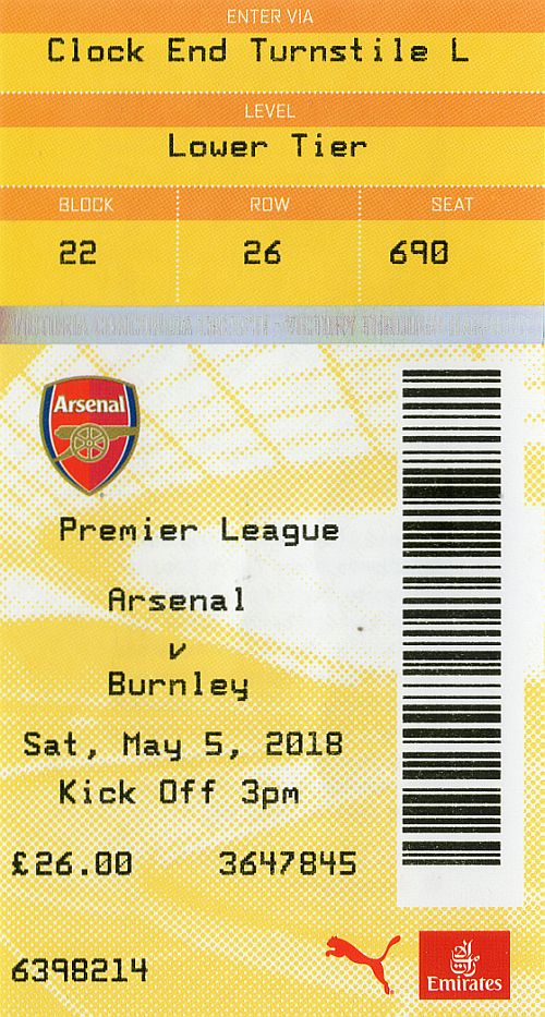 tickets1718 arsenal