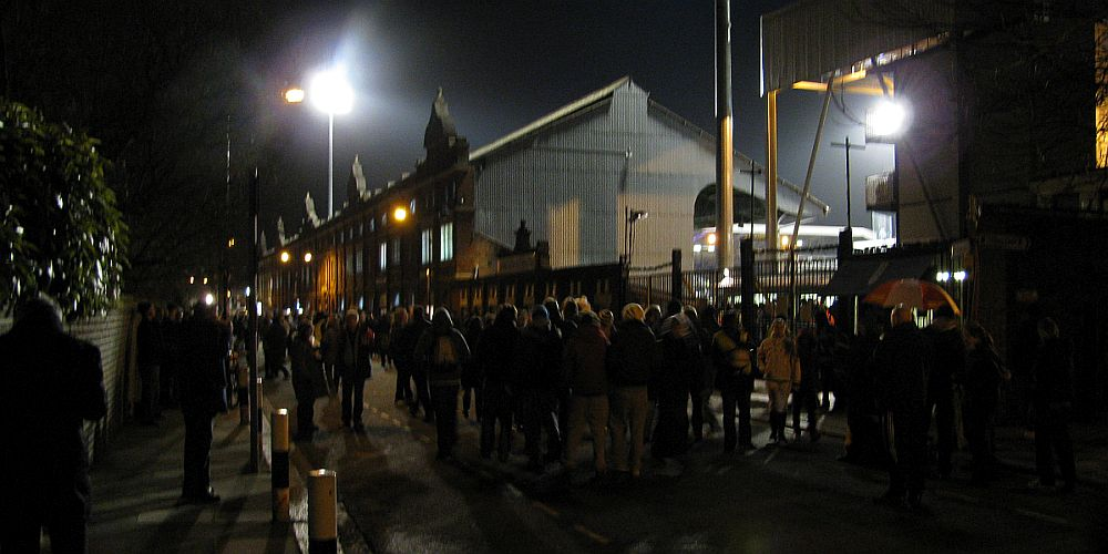 Craven Cottage ahead of our Premier League game against Fulham in 2009/10