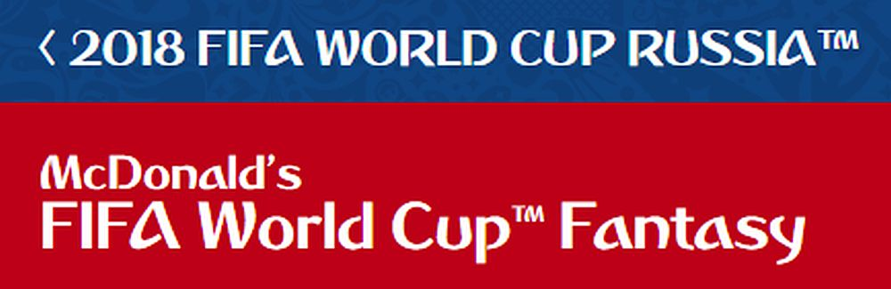 fantasy world cup 2018