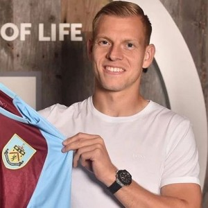 Matěj Vydra became the first Burnley player to represent the Czech Republic