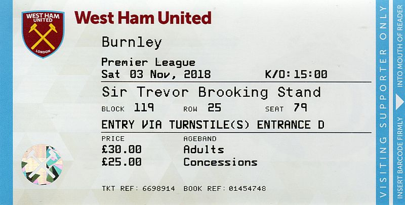tickets1819 west ham