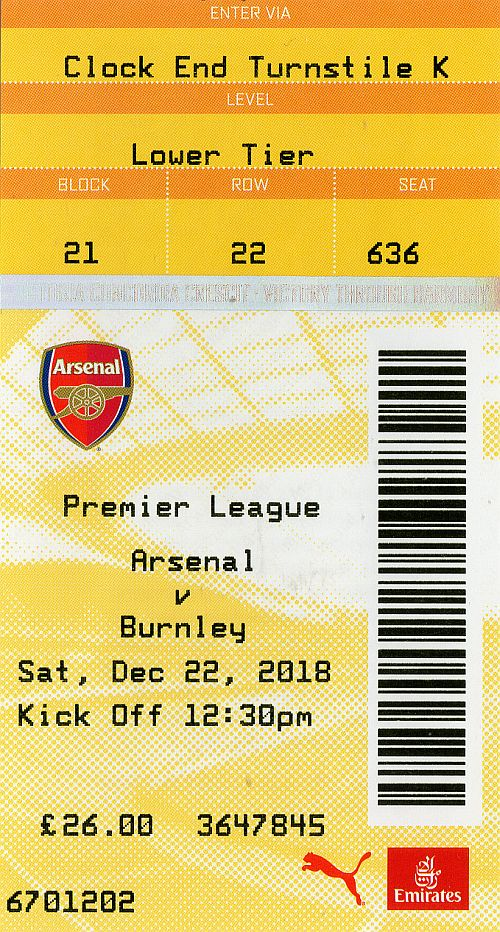 tickets1819 arsenal