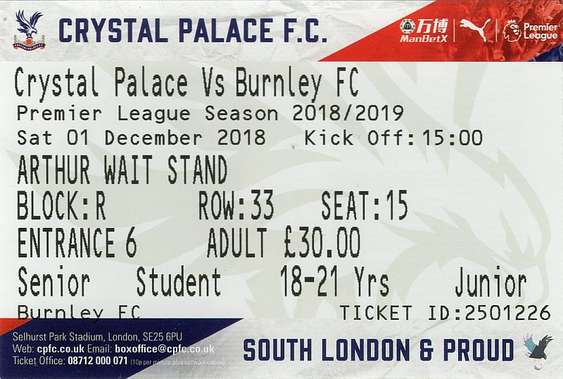 tickets1819 crystal palace