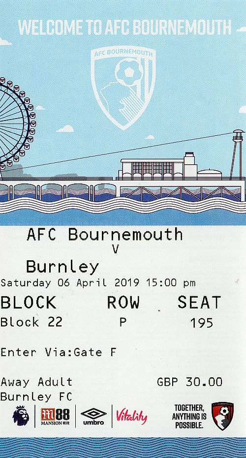 tickets1819 bournemouth