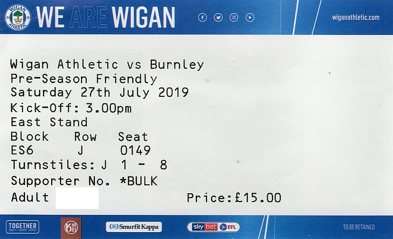 tickets1920 wigan