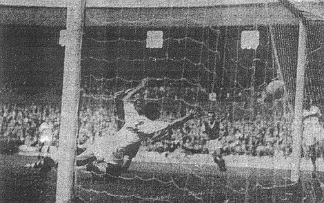 Ray Pointer scores Burnley's third goal