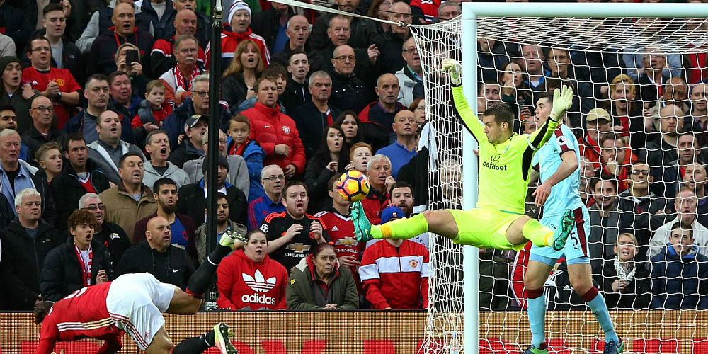 The save which denied Ibrahimovic at Old Trafford