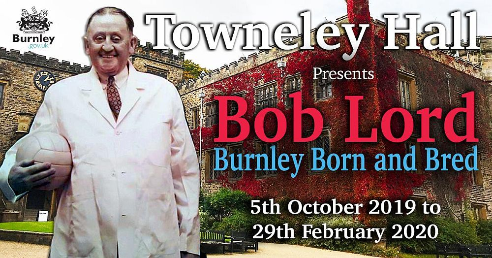 Bob Lord Towneley exhib and logo