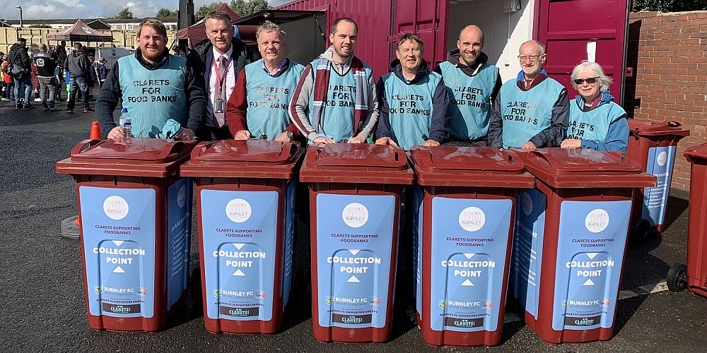 clarets for foodbanks 1