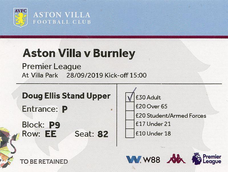 tickets1920 aston villa