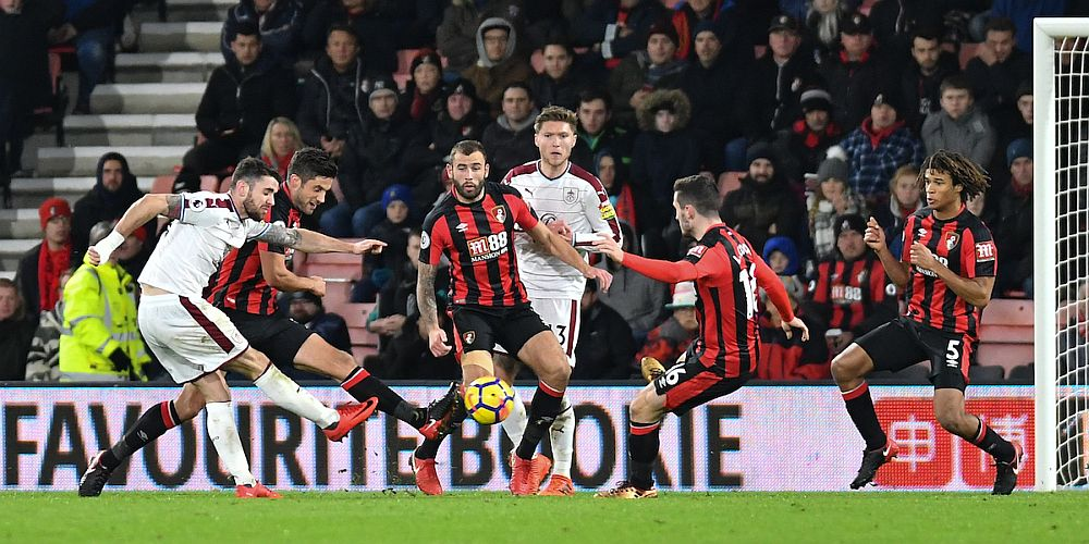One of the candidates - Robbie Brady scores at Bournemouth