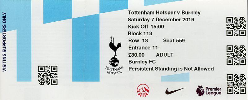 tickets1920 tottenham